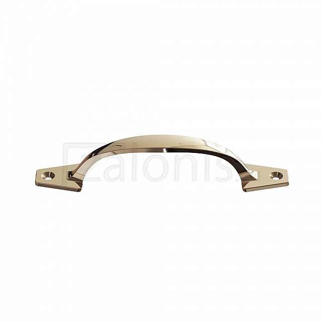 HANDLE WITH EXTERNAL SCREWS 130 / GOLD